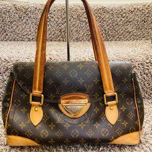Louis Vuitton Beverly GM Brown Handbag 11050